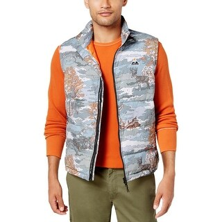 LRG Mens Outerwear Vest Winter Quilted - 2XL