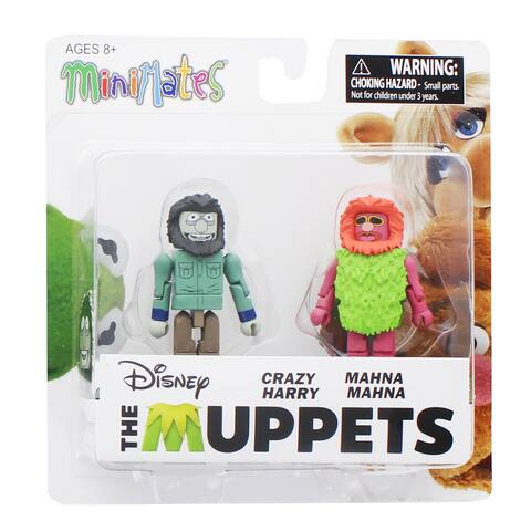 Muppets Minimates Series 2 2-Pack: Crazy Harry & Mahna Mahna - multi