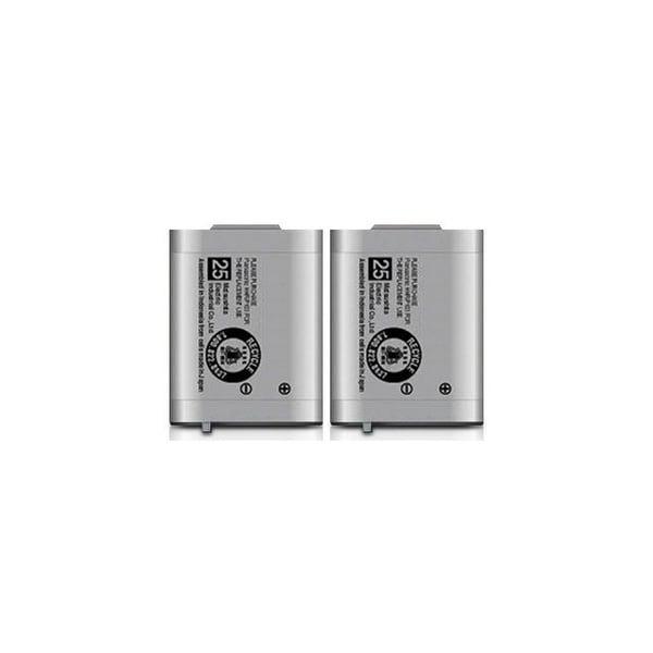 Replacement Panasonic KX-TD7684 NiMH Cordless Phone Battery (2 Pack)