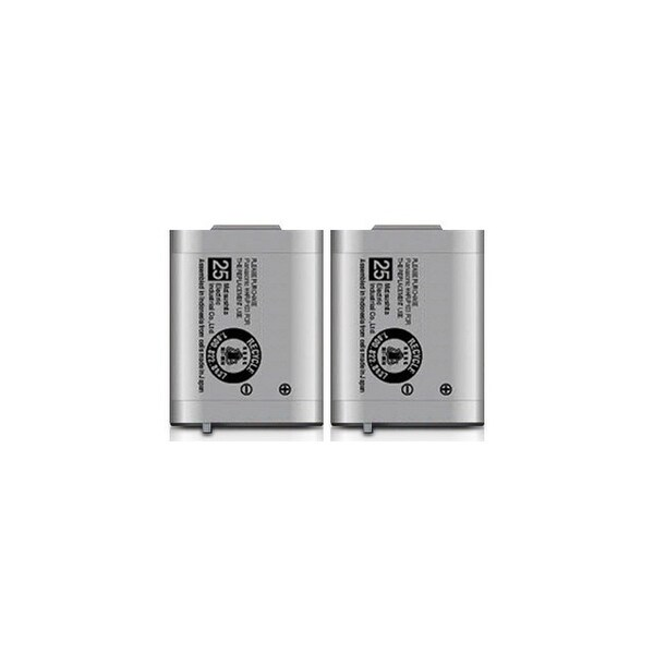 Replacement Panasonic KX-TG2383 NiMH Cordless Phone Battery (2 Pack)