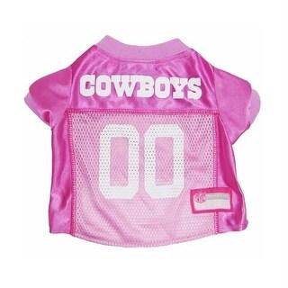 Dallas Cowboys Pink Dog Jersey - Medium