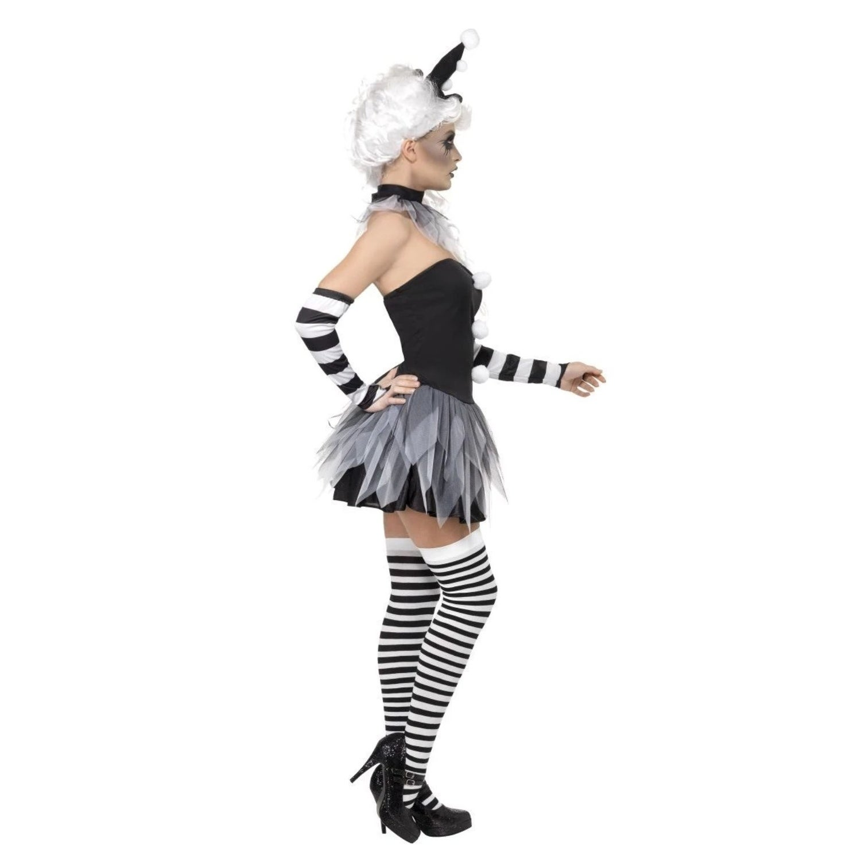 Lady Pierrot Circus Costume Dream Girl Lingerie
