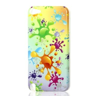 Plastic Splash Water Drop TPU Hard Phone Case Shell Colorful for iPod Touch 5G