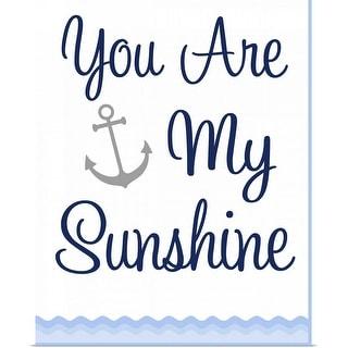 """Nautical Sunshine"" Poster Print"