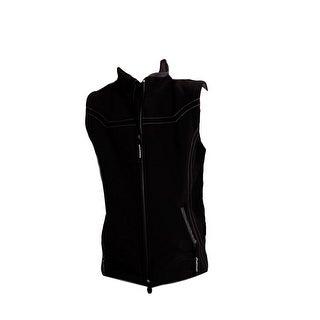 Roper Western Vest Girls Outerwear Front Zip Black 03-298-0781-0672 BL