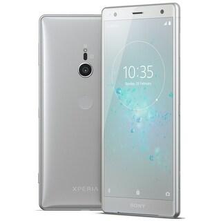 Sony Xperia XZ2 Unlocked Smartphone (Liquid Silver)