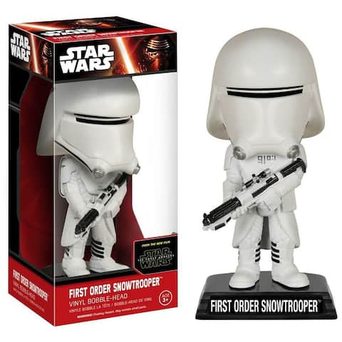 Star Wars The Force Awakens Funko Bobble Head First Order Snowtrooper - Multi