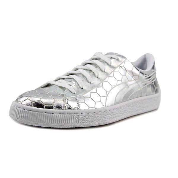 Puma Blaze Ignite Future Minimal Women Round Toe Synthetic Silver Sneakers