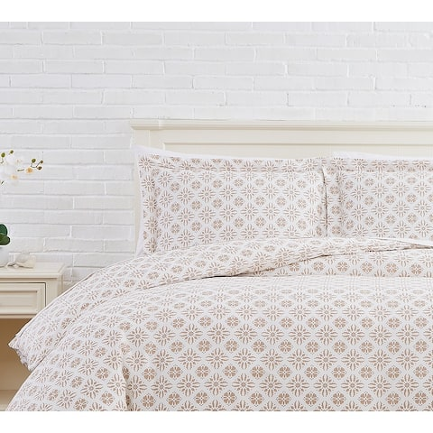 Aztec Dreams 100% Cotton Duvet Cover and Sham Set