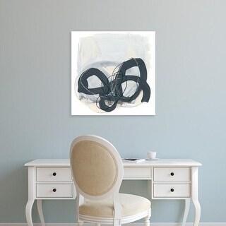 Easy Art Prints June Erica Vess's 'Tablature II' Premium Canvas Art