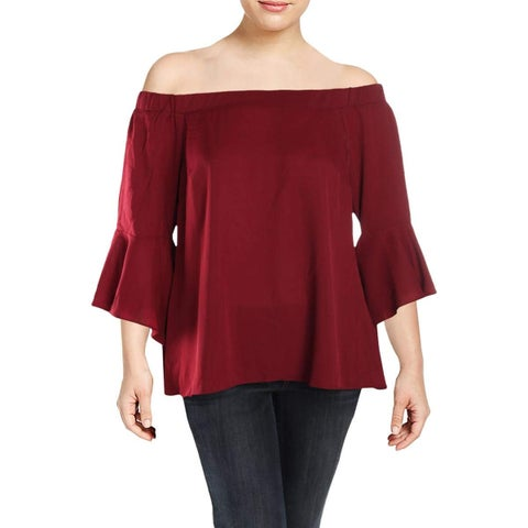 City Chic Ruby Women's Plus Dramatic-Sleeve Blouse-