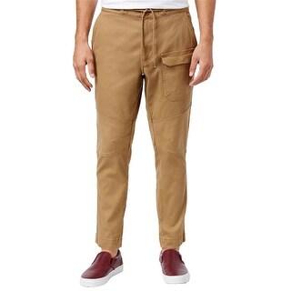 American Rag Mens Reverse Pieced Casual Jogger Pants