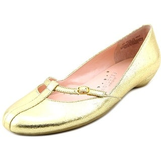 Kenneth Cole Reaction Note to Self MT Women Round Toe Leather Flats