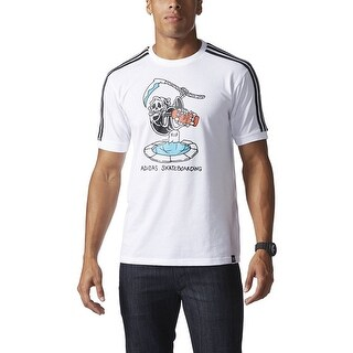 Adidas DEATH JERSEY mens athletic-shirts BK8001 - White