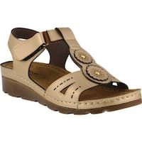 Flexus by Spring Step Women's Silas Strappy Sandal Gold