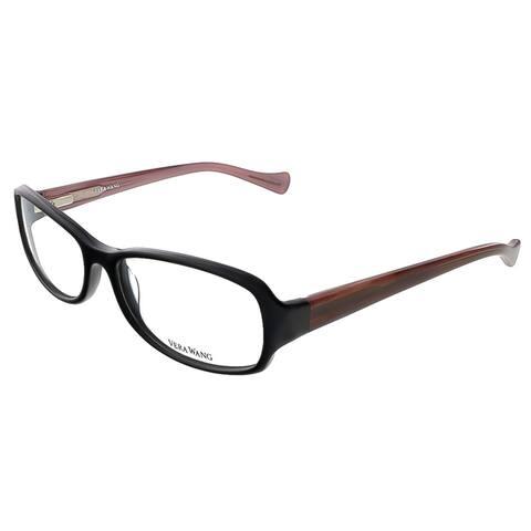 Vera Wang VE 16 BK 54 Black Full Rim Womens Optical Frame - 54-16-130