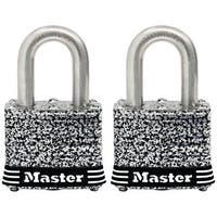 "Master Lock 3SSTHC Stainless Steel Laminated Padlock, 1.5"""