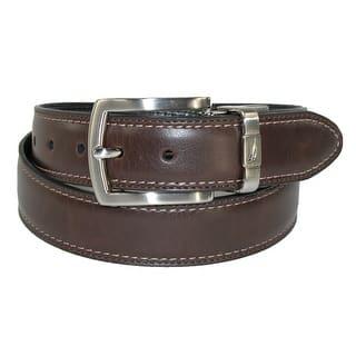 Nautica Boys' Leather Reversible Padded Belt with Feather Edge|https://ak1.ostkcdn.com/images/products/is/images/direct/83a5aa276129e5679f39d4dfeb8907b5e52cd03e/Nautica-Boys%27-Leather-Reversible-Padded-Belt-with-Feather-Edge.jpg?impolicy=medium