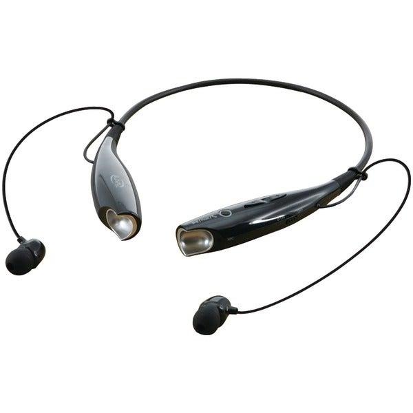 Ilive Iaeb25B Bluetooth(R) Neckband & Earbuds (Black)