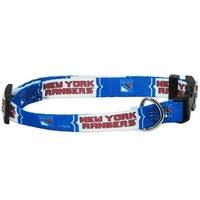 New York Rangers Pet Collar - Medium