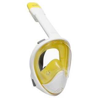 Ivation Full Face Snorkel Mask (Yellow)