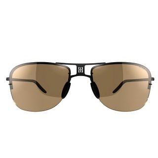Bex Sunglasses Grayfyn Titanium Lightweight Polarized Black Brown BXB0 - black brown - Medium