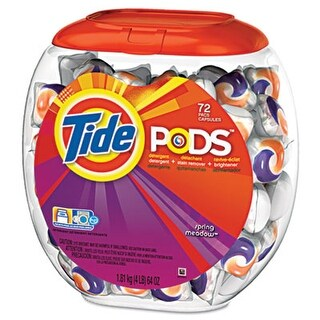 Tide 50978 Pods Spring Meadow 72 per Pack
