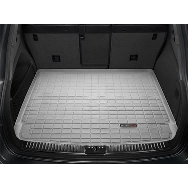 Black WeatherTech Custom Fit Cargo Liners for Toyota Highlander