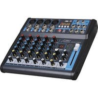 Professional Six-Channel Audio Mixer With USB Interface,