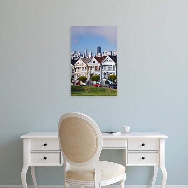 Easy Art Prints Rob Tilley's 'Painted Ladies Skyline' Premium Canvas Art