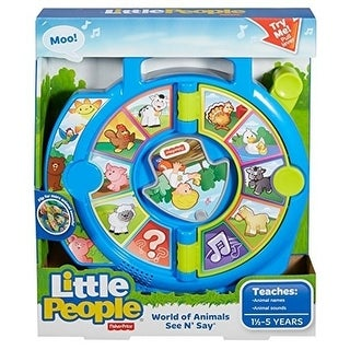 Fisher-Price Little People World of Animals See N' Say