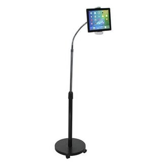 Cta Digital Gooseneck Floor Stand For Apple Ipads And Tablets