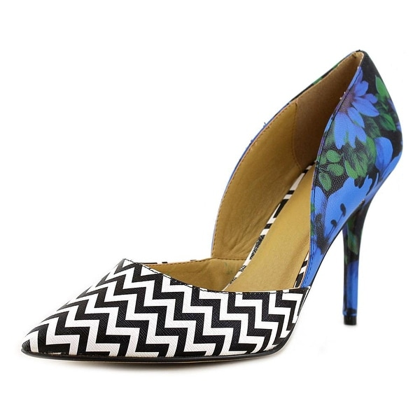 Nine West Havaseat Women Pointed Toe Synthetic Multi Color Heels