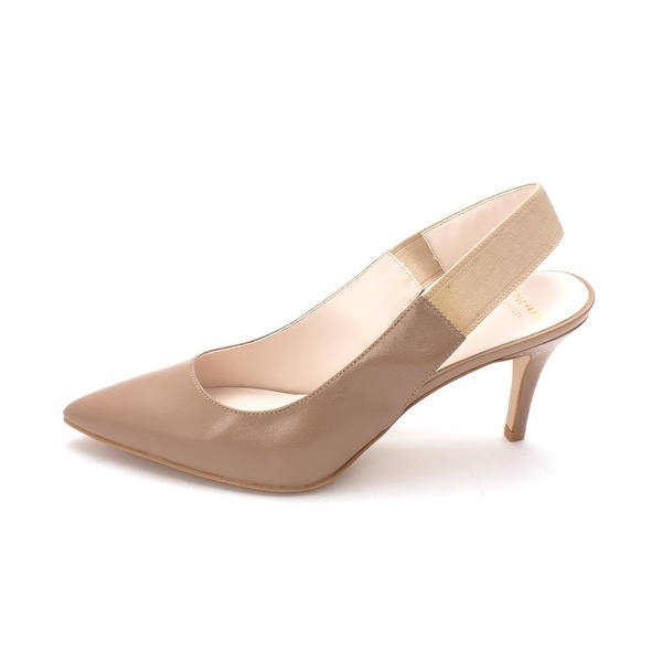 Cole Haan Womens Reedsam Pointed Toe SlingBack D-orsay Pumps - 6