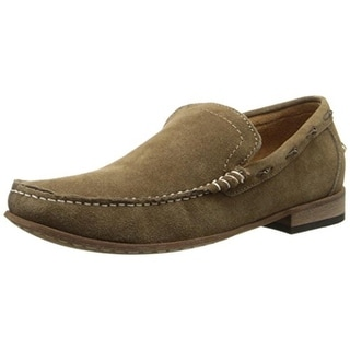 Andrew Marc Mens West End Suede Slip On Loafers