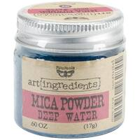 Finnabair Art Ingredients Mica Powder .6oz-Deep Water