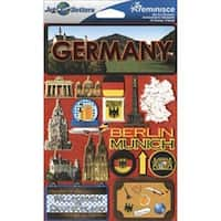 Germany - Jet Setters Dimensional Stickers