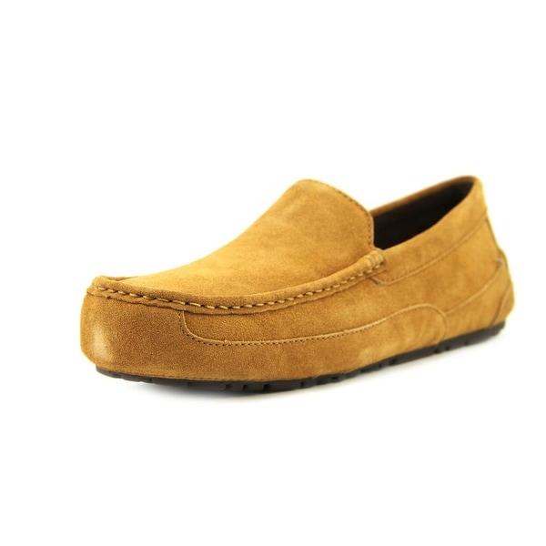 6e6c18061f1 Shop Ugg Australia Alder Men Moc Toe Suede Slipper - Free Shipping ...