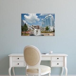 Easy Art Prints Cindy Miller Hopkins's 'Norfolk, VA' Premium Canvas Art