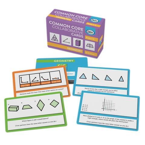 Geometry Common Core Collaborative Cards