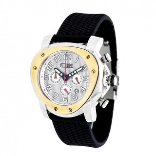 Equipe Grille Chronograph Men's Strap Watch w/ Date