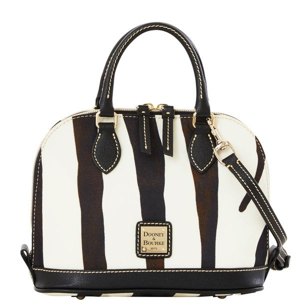 Dooney & Bourke Nylon Bitsy Bag (Introduced by Dooney & Bourke at $178 in Jan 2016) - Zebra