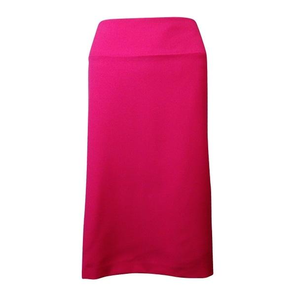 Alfani Women's Classic Lined Solid Pencil Skirt