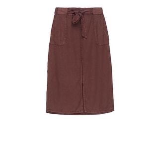 Bobeau Sark Tie Waist Skirt Plus Size (Option: 3x)