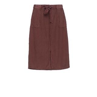 Bobeau Sark Tie Waist Skirt Plus Size