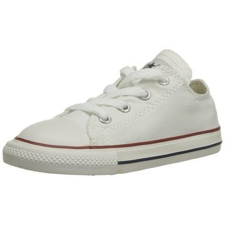 Converse Unisex Child Infant/Toddler Chuck Taylor All Star Ox - White - 10 TOD|https://ak1.ostkcdn.com/images/products/is/images/direct/83b5c7b75191fb87f60128acf285e14abfc9ebdb/Converse-Unisex-Child-Infant-Toddler-Chuck-Taylor-All-Star-Ox---White---10-TOD.jpg?_ostk_perf_=percv&impolicy=medium