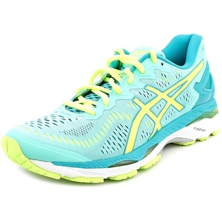 Asics Gel-Kayano 23 Women  Round Toe Synthetic Green Running Shoe