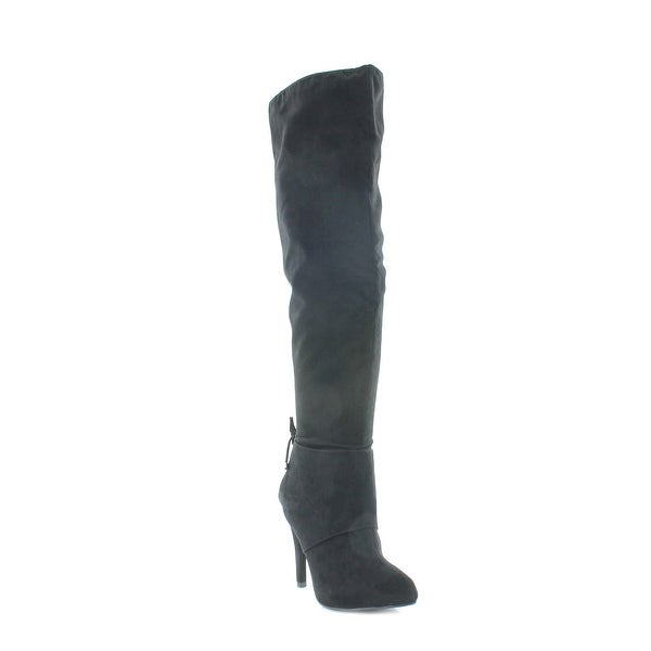 Nina Keely Women's Boots True Black