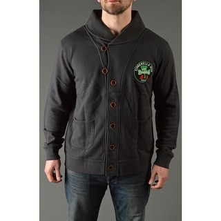 Roots of Fight James Braddock Throwback Button-Front Cardigan - Black (Option: 3xl)