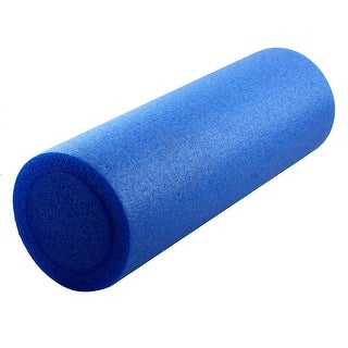 Fitness Exercise Yoga Pilates Sports Body Muscle Tissue Massage Foam Roller Blue